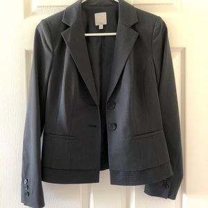 Nordstrom Halogen 2 button blazer coat